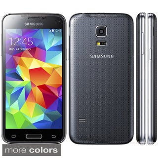 Samsung Galaxy S5 Mini SM-G800H 16 GB Unlocked GSM Android OS, v4.4.2 KitKat Smartphone