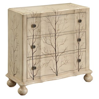 Christopher Knight Home Juneau Antique Ivory Three Drawer Chest