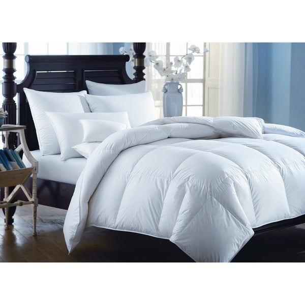 european heritage down opulence summer weight white goose down comforter overstock shopping. Black Bedroom Furniture Sets. Home Design Ideas