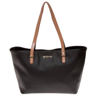 Kenneth Cole Reaction 'Duplicator' Black Saffiano Tote