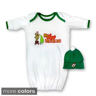 Spencer's Lil' Christmas Gown and Cap Set