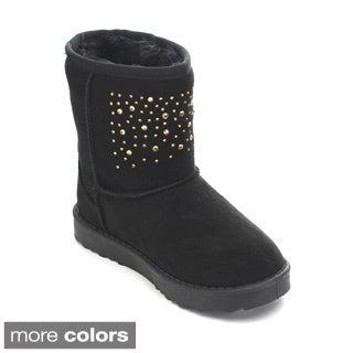 Via Pinky Coco-21F Kid's Big Girls Snow Boots