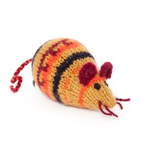 Sitara Collections Handmade Plush Mouse (India)