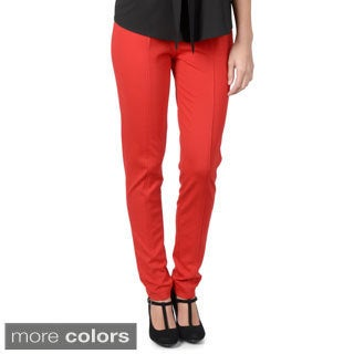 Journee Collection Women's Knit Ponte Pants