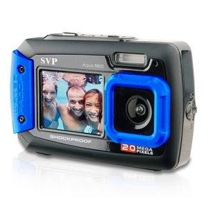 20MP Blue Waterproof Shockproof Digital Camera Video Recorder