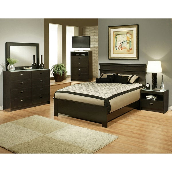 Sandberg Furniture Times Square Bedroom Set Overstock Shopping Big Discou