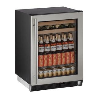 U-Line 24-inch Stainless Beverage Center