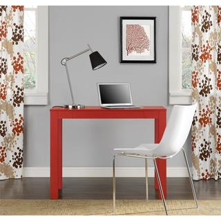 Altra Red Parsons Desk with Drawer