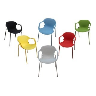 Lily Plastic Casual/ Dining Chairs (Set of 6)