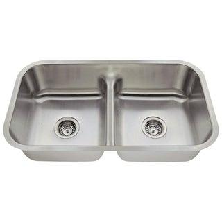 MR Direct 512 Half Divide Stainless Steel Kitchen Sink
