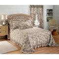 Plisse Bedspread and Sham Separates