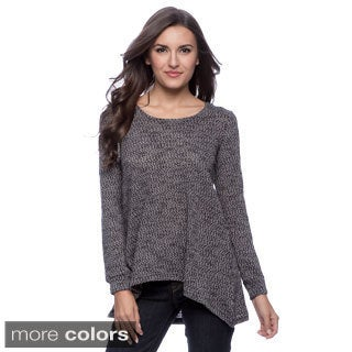 Cable & Gauge Women's Hooded Knit Top