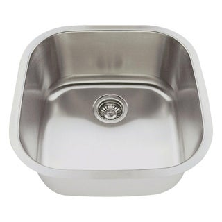 MR Direct 2020 Stainless Steel Bar Sink