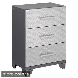 NewAge Products Performance Diamond Plate 3-drawer Tool Cabinet
