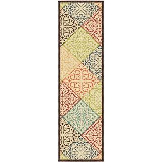 "Promise Collection Walker Multi Olefin Indoor/Outdoor Runner Rug (2'3"" x 8')"
