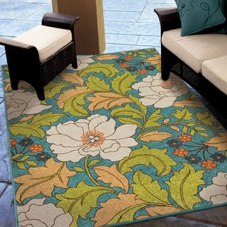 "Promise Collection Tace Multi Olefin Indoor/Outdoor Area Rug (7'8"" x 10'10"")"