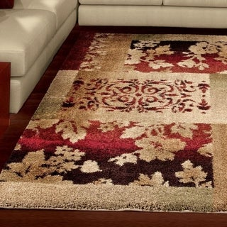 "Euphoria Collection Oakley Multi Olefin Area Rug (7'10"" x 10'10"")"