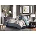 Madison Park Harlem 12-Piece Jacquard Comforter Set