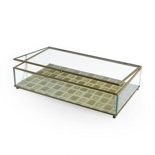 Tile Gold Glass Large Display Box
