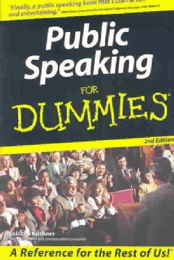 Public Speaking for Dummies (Paperback)