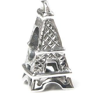 Queenberry .925 Sterling Silver 'Eiffel Tower' European Charm