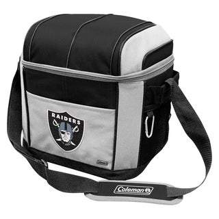 Colemand NFL Oakland Raiders Soft Sided 24 Can Cooler