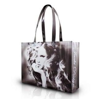 Jacki Design Grey Top Model Tote Bag