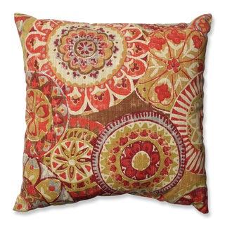 Pillow Perfect Indira Cardinal Throw Pillow