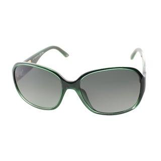 Fendi Women's 'FS 5336 317' Green Plastic Sunglasses