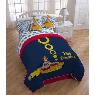 Beatles Yellow Submarine 4-piece Bedding Set