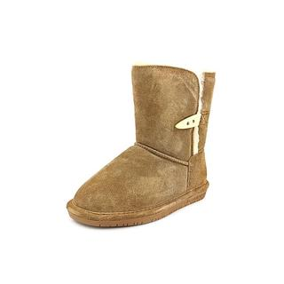 Bearpaw Girl (Youth) 'Abigail Youth' Regular Suede Boots