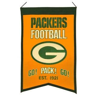 Winning Streak Green Bay Packers Franchise Banner