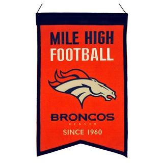 Winning Streak Denver Broncos Franchise Banner