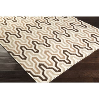 Hand-Woven Dennis Reversible Wool Rug (8' x 11')