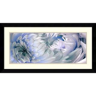 Huntington Witherill 'Dahlias #6' Framed Art Print 38 x 20-inch