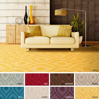 Artistic Weavers Abi Hand-woven Tone-on-Tone Wool Rug (2'3 x 14')