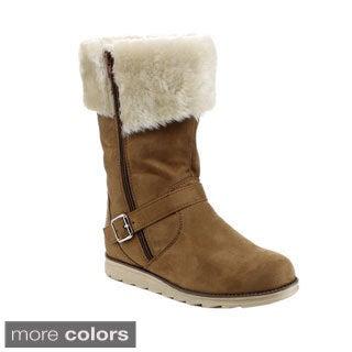 Reneeze Women's 'Jolin-01' Mid-calf Riding Boots