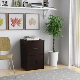 Altra Black Forest 2-drawer File Cabinet
