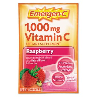 Emergen-C® Immune Defense Raspberry Flavored Drink Mix 0.3-ounce Packets (Pack of 50)