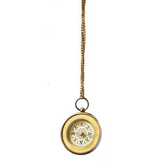 Sage & Co 2.25-inch Brass Pocketwatch Ornament (Pack of 2)