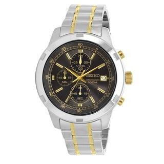 Seiko Men's SKS425 Stainless Steel Chronograph Watch