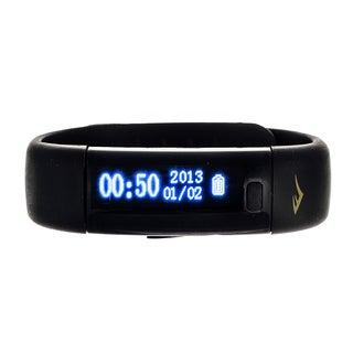 Everlast Men's Black Wireless Fitness Activity Tracker / Sleep Monitor