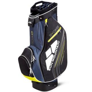 Sun Mountain S-One Navy/ Black/ Citron Golf Cart Bag