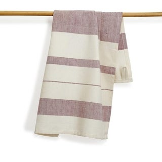 Hibiscus Artisan Woven Kitchen Towel (India)