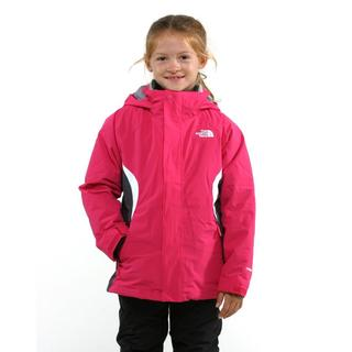 The North Face Girl's Boundry Passion Pink Triclimate Jacket