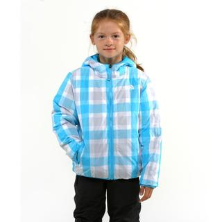 The North Face Girl's Rev Moondoggy Turquoise Blue Jacket