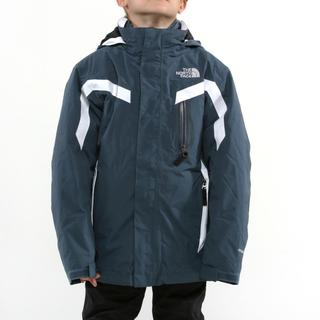 North Face Boy's Boundary Triclimate Conquer Blue Jacket