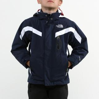 North Face Boy's Boundary Triclimate Cosmic Blue Jacket