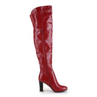 Ann Creek Women's 'Mona' Gold Plated Heels Boot
