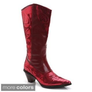 Ann Creek Women's Ponce Mid-Calf Metallic Boots